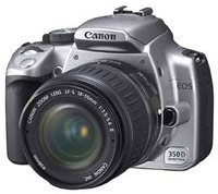 Canon EOS 350D kit EF 18-55 f/3.5-5.6.