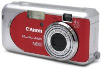Canon PowerShot A430 red