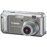 Canon PowerShot A460 yellow