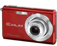 Casio EXILIM EX-Z700 red
