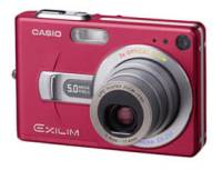 Casio EXILIM EX-Z70 red