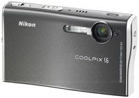 Nikon Coolpix S6 grey