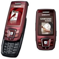 Samsung SGH-E390 red
