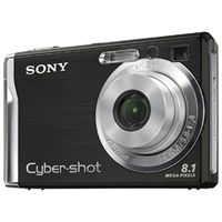 Sony Cyber-shot DSC W90 black